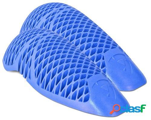 Rev'it! paire de protections coude seeflex rv15, pour vêtements moto, bleu