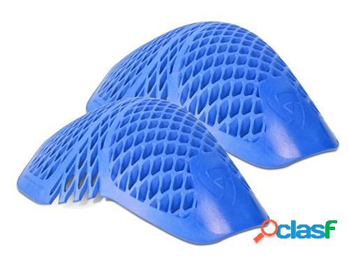 Rev'it! paire de protections épaules seeflex rv11, pour vêtements moto, bleu