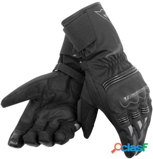 Dainese tempest d-dry® gloves longue, gants moto d'hiver, noir