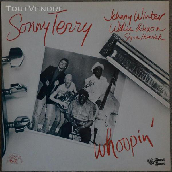 33t sonny terry - whoopin' (lp) - 1984