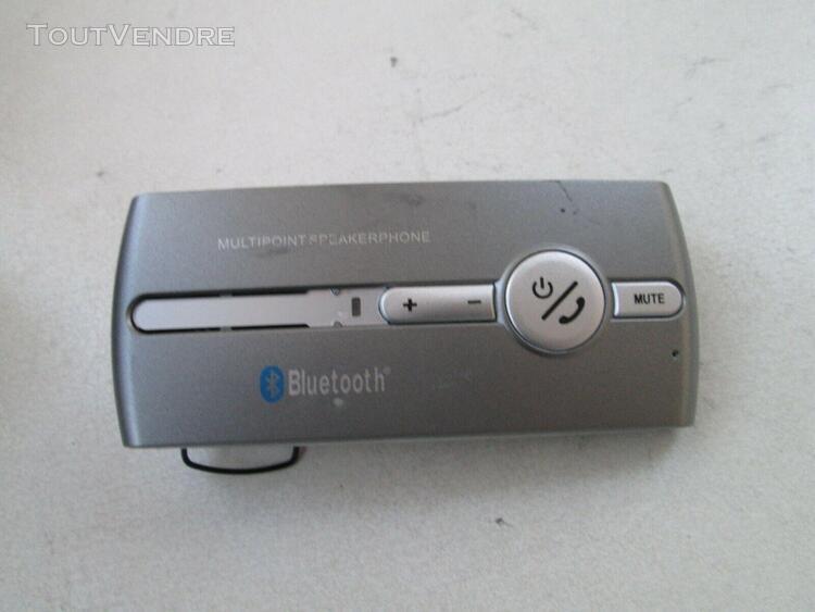 Bluetooth de voiture sans fil main libre smartphone telephon