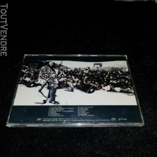 Bob marley and the wailers africa live japan cd import tdcn-