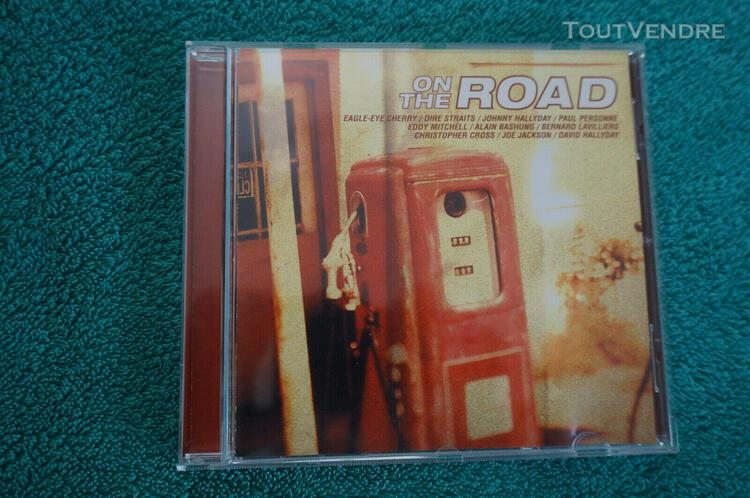 Cd on the road bashung hallyday mitchell lavilliers !!! 19 t
