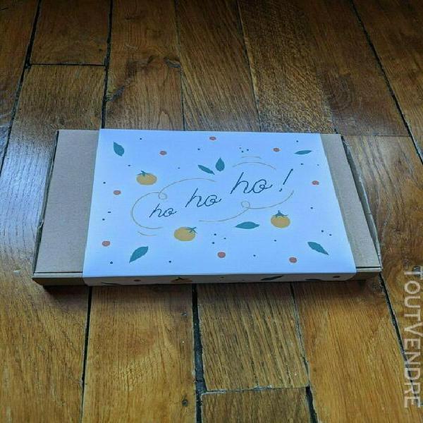 """Coffret cadeau """"box à planter"""" de 4 saisons (1 box par"""