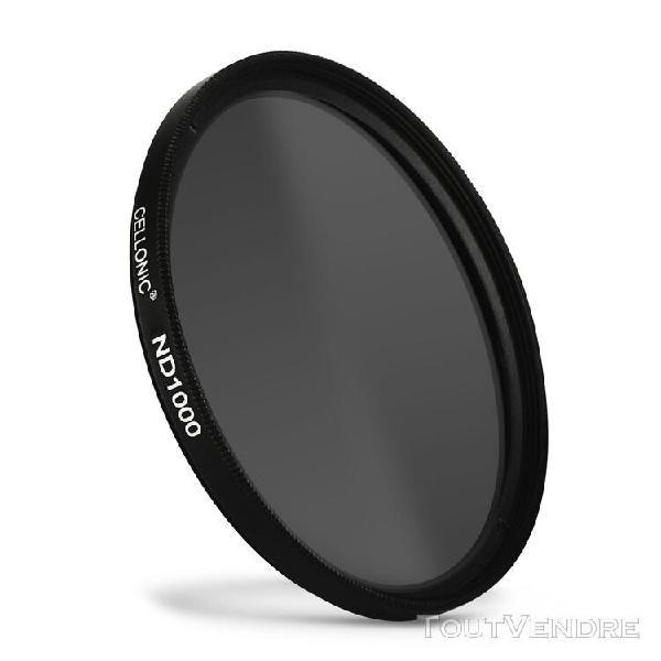 Filtre densité neutre nd1000 pour sigma ø 72mm filtre gris