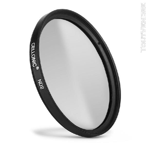 Filtre densité neutre nd2 pour nikon ø 52mm filtre gris