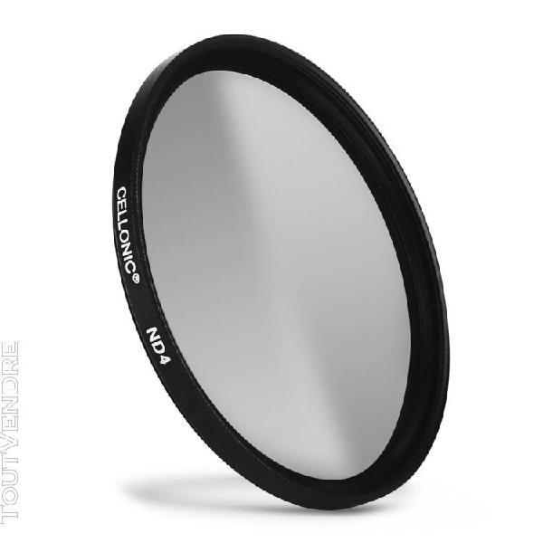 filtre densité neutre nd4 pour tamron Ø 62mm filtre gris