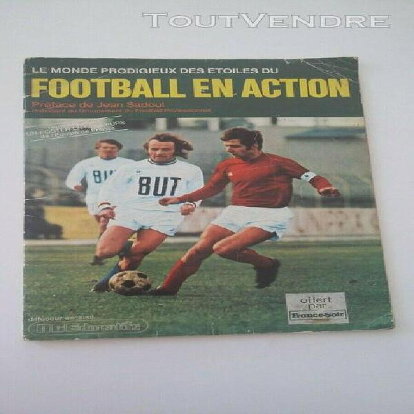 No panini album foot france 71-72 original vide