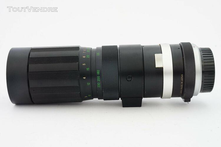 Objectif soligor auto zoom 90-230mm f4,5 monture minolta - t