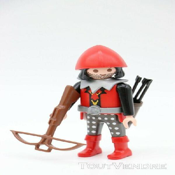 Playmobil homme archer - chevalier, knights, forteresse drag