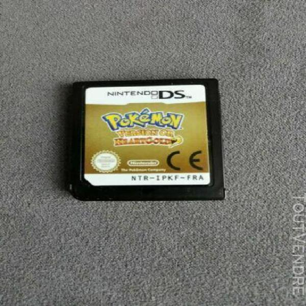pokemon or heartgold ds