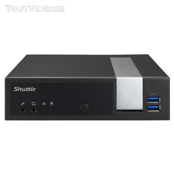 Shuttle xpc slim dx30 - mini-pc - intel celeron j3355 - sata