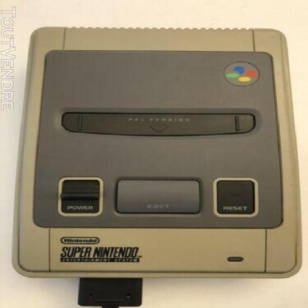 Super nintendo entertainment system console avec une manette