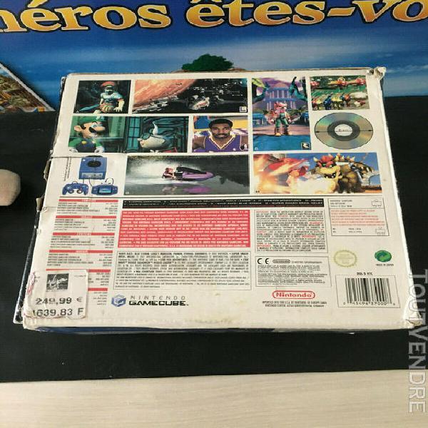 Console nintendo game cube grise dol 001 eur en boite violet
