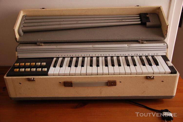 Harmonium électrique portatif vintage