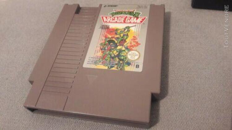 Jeu nintendo nes turtles 2 the arcade game tortues ninja tmh