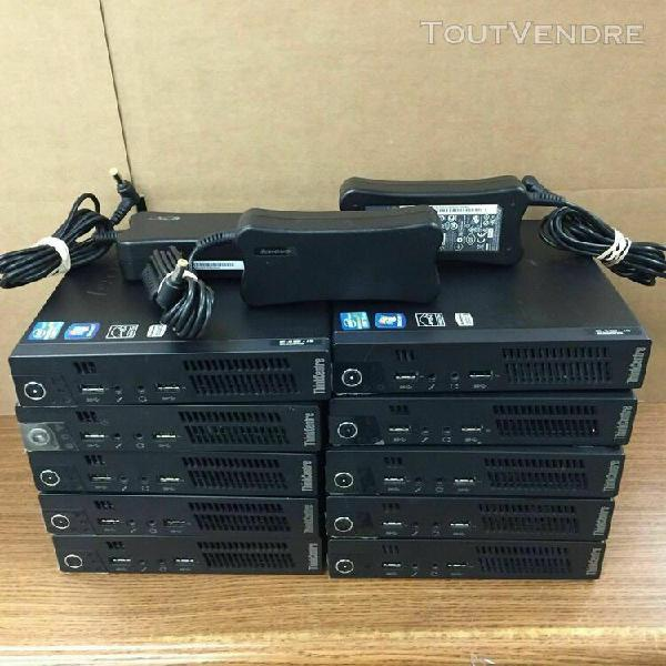 Lenovo thinkcentre m92p tiny i3 4gb ram 320 hdd en tres bon
