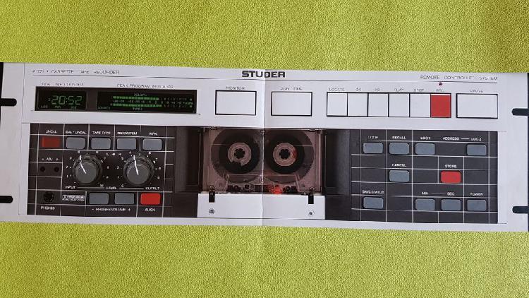 Magnétophone a cassette a711 studer neuf, toulouse (31000)