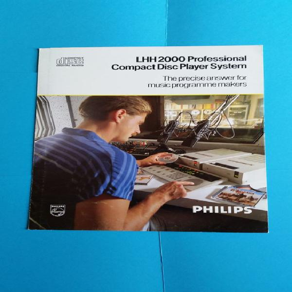 Philips lhh 2000 cd neuf, toulouse (31000)