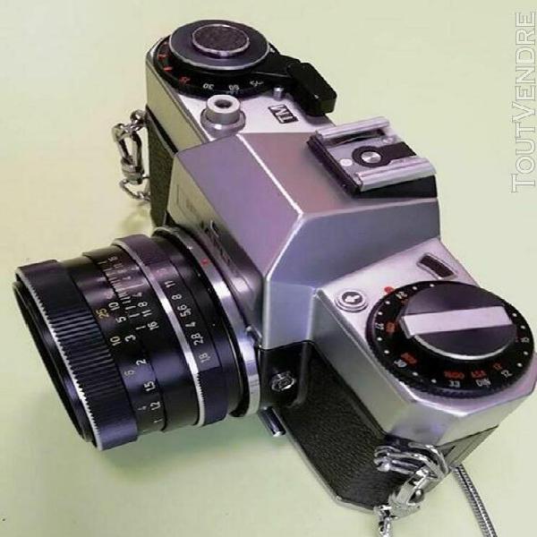 Rare @rollei ifbaflex m102-tm - m42 à vis avec 1.8/50mm