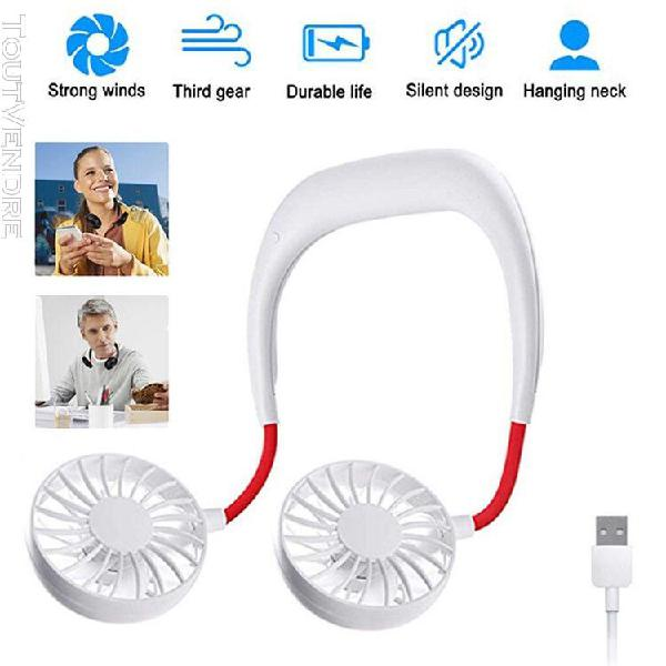 2020 bankaod portable usb rechargeable neckband lazy neck ha