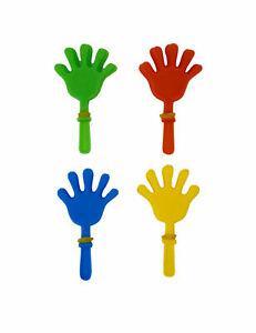 8 accessoires piñata clap main 7 cm cod.285273