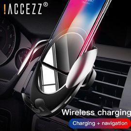 Accézz 10w qi chargeur de voiture sans fil pour iphone x