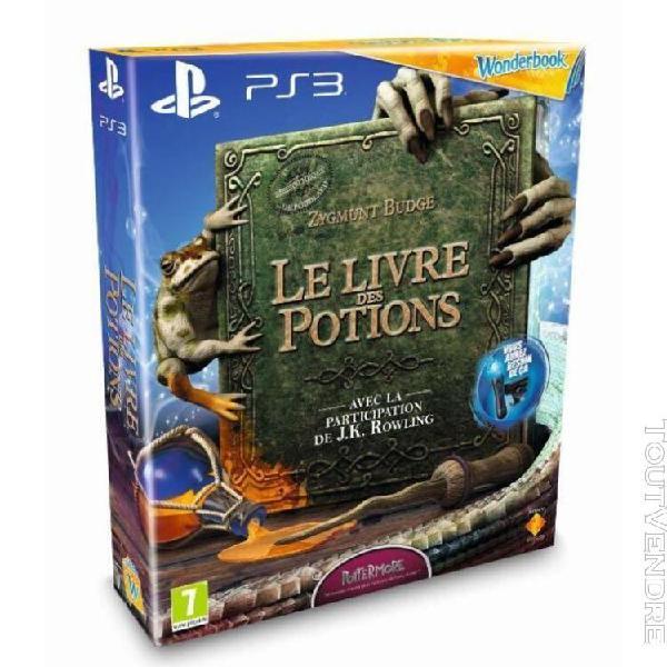 Book of potions (jeu + woonderbook)