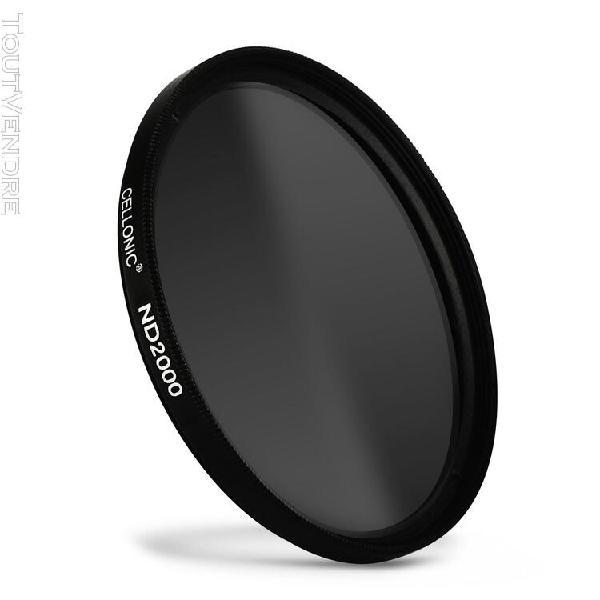 Filtre densité neutre nd2000 pour pentax smc ø 58mm filtre