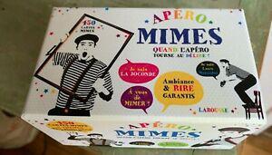 Jeux de société familiale apéro mimesavec 450 cartes et