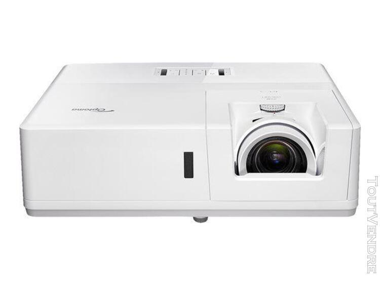 Optoma zh606e - projecteur dlp - laser - 3d - 6300 ansi lume