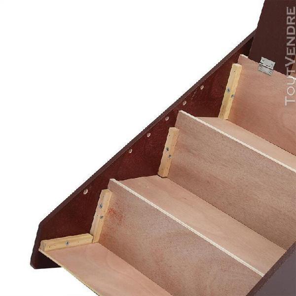 Pont escalier échelle de rampe d'escaliers de chien