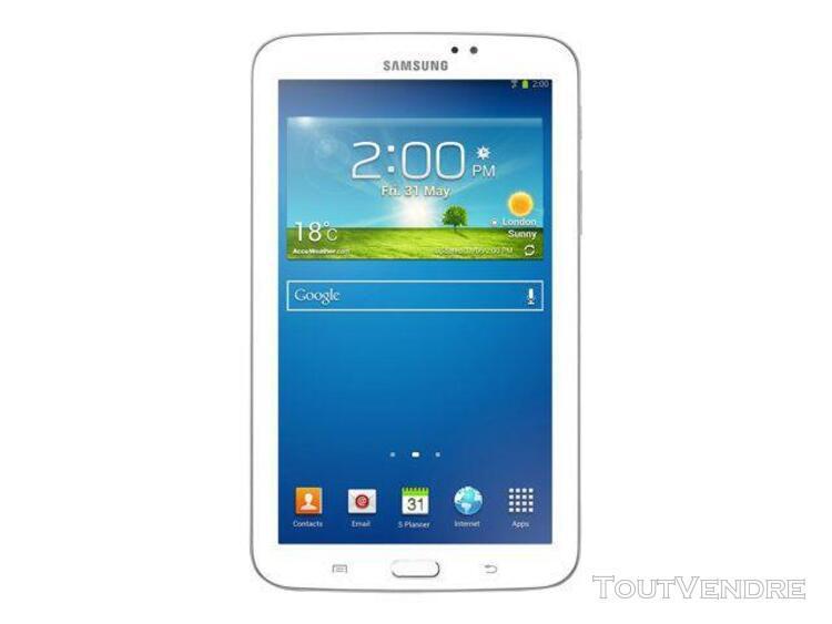 """Tablette 8"""" samsung galaxy tab 3 blanc 16 go"""