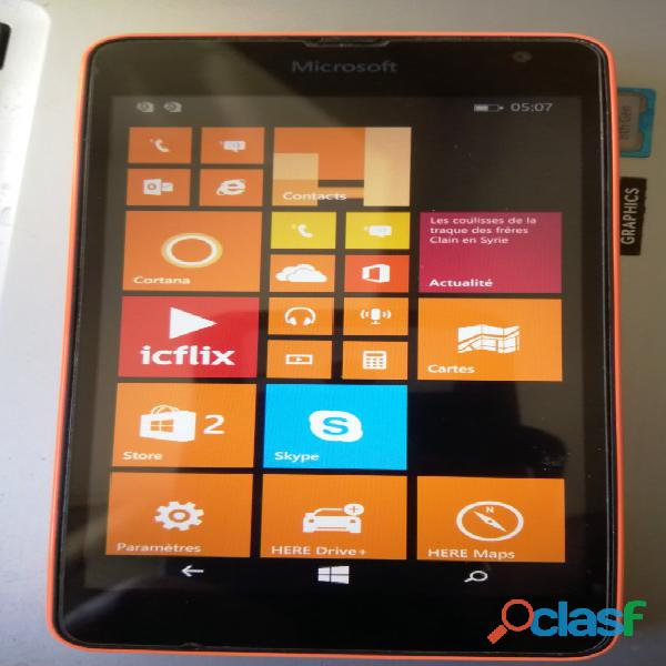 A vendre Windows Phone Microsoft Lumia 535 Dual SIM