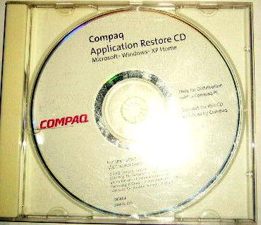 Cd application restore compaq occasion, versailles (78000)