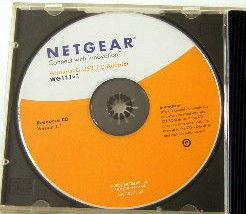 Cd d'installation wifi wireless g-usb netgear occasion,