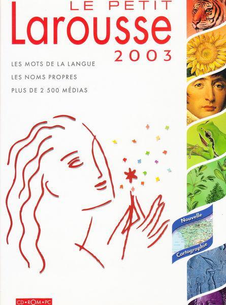 Cd pc le petit larousse 2003 neuf, aubin (12110)