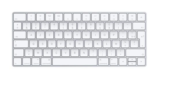 Clavier informatique sans fil apple occasion, niort (79000)