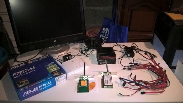 Lot de matériel informatique occasion, louhans (71500)