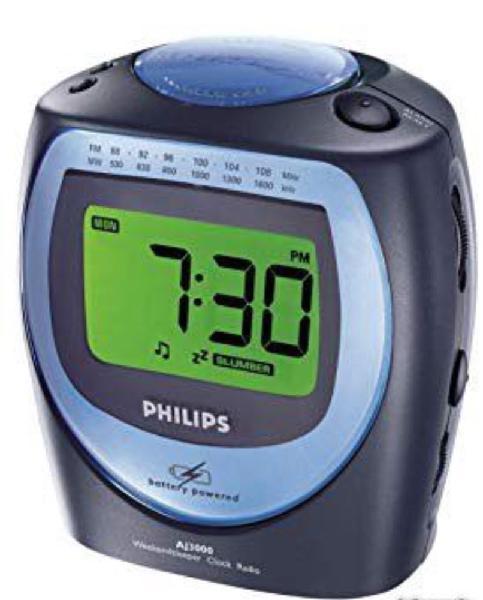 Radio réveil philips neuf, chalon-sur-saône (71100)
