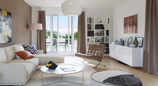 Appartement à vendre toulouse 2 pièces 45 m2 haute garonne