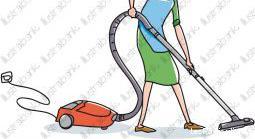 Femme de ménage aide ménagére