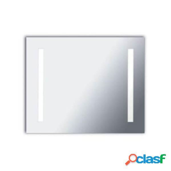 """""""miroir rectangle lumineux salle de bain reflex led ip44 l80 cm"""""""
