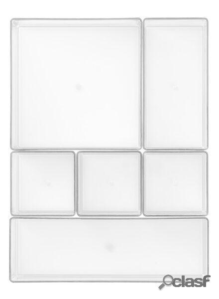 Hema casiers de rangement (transparant)