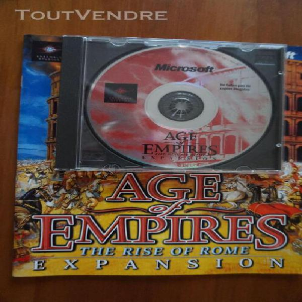 Age of empires - expansion - the rise of rome