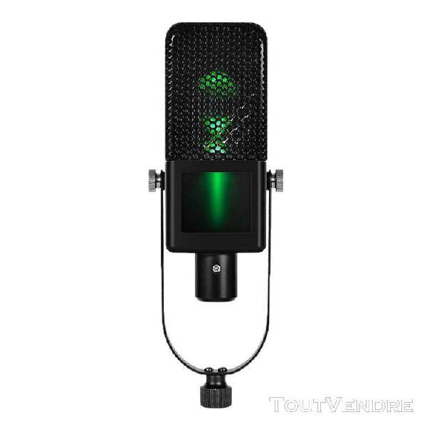 Microphone à condensateur studio d'enregistrement