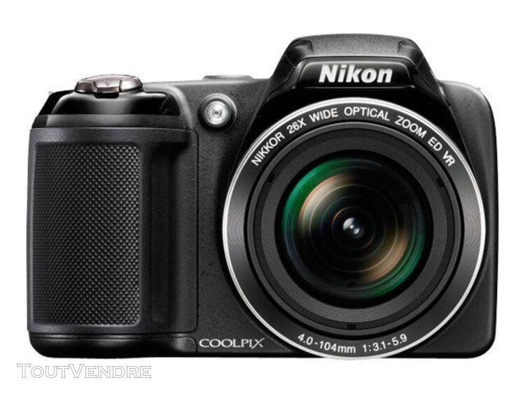 Nikon coolpix l320 compact 16.1 mpix noir