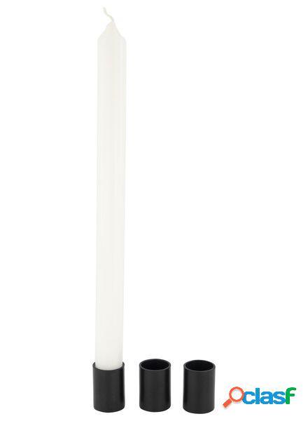 Hema 3 chandeliers magnétique - 3,5 x 2,3 - noir (noir)