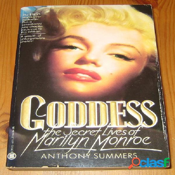 Goddess the secret lives of marilyn monroe, anthony summers
