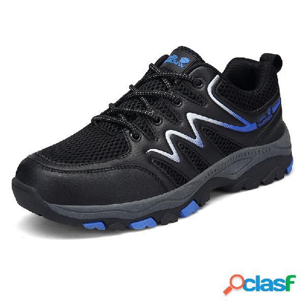 Chaussures de randonnée décontractée antidérapantes pour hommes